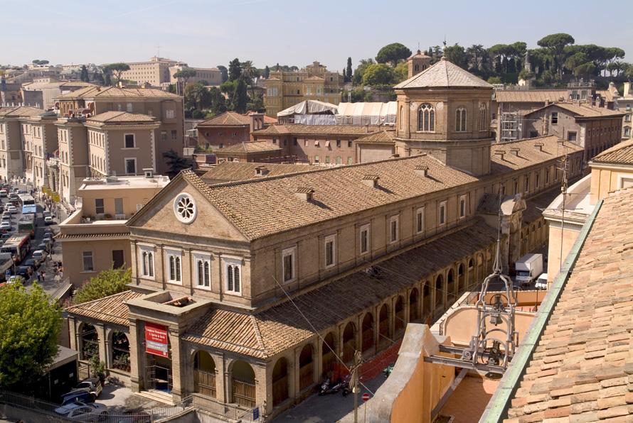 Domenica 31 gennaio, h 11.00 Borgo Santo Spirito, le antiche Scholae, la porta, la chiesa e il complesso ospedaliero